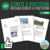Cornell Notes (Climate & Vegetation) Russia