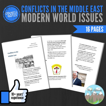 Cornell Notes (Conflicts In the Middle East) Modern World Issues