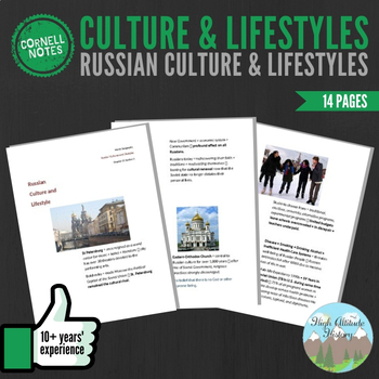 Cornell Notes (Cultures and Lifestyles) Russia