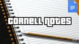 Cornell Notes (Editable in Google Docs)