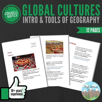Cornell Notes (Global Cultures) Introduction & Tools of Geography