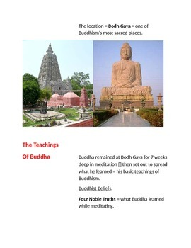 Cornell Notes (Hinduism & Buddhism)