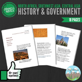 Cornell Notes (History & Government) North Africa, Southwest Asia, Central Asia