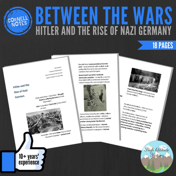 Cornell Notes (Hitler and the Rise of Nazi Germany) Betwee