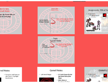 Cornell Notes Introduction Prezi Presentation