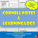 Cornell Notes & Learning Logs | Teacher & Student Instructions