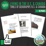 Cornell Notes (Living in U.S./CAN) Tools of Geography / United States & Canada