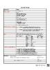 Cornell Notes Passato Prossimo with Avere Italian (w/Irregulars) Editable PDF