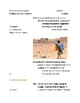 Cornell Notes (People & Environment) Sub-Saharan Africa / Africa South of Sahara