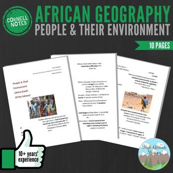 Cornell Notes (People & Environment) Sub-Saharan Africa /