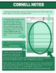 Cornell Notes Posters (colorful - choose the color)