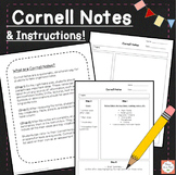 Cornell Notes Template!