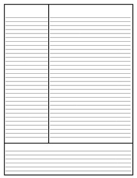 Cornell Notes Template Pack