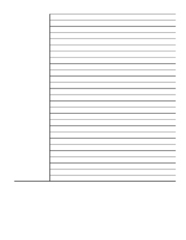Cornell Notes Template (blank)