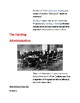Cornell Notes (The Roaring 20's) The Business of Government