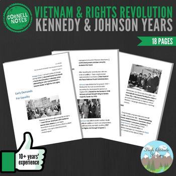 Cornell Notes (Vietnam & Rights Revolution) Kennedy & Johnson Years