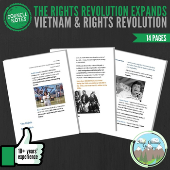 Cornell Notes (Vietnam & Rights Revolution) The Rights Revolution Expands