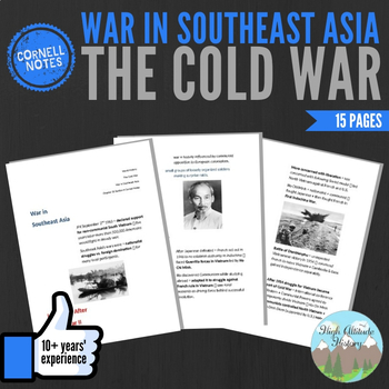 Cornell Notes (War in Southeast Asia) The Cold War