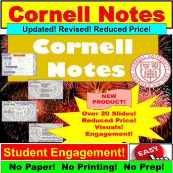 Cornell Notes: Focused Note Taking for AVID or All Subjects