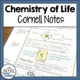 Cornell Notes for Biology - Chemistry of Life - Matter, Atoms, Molecules