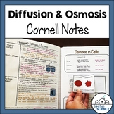 Cornell Notes for Biology - Osmosis Diffusion Cellular Transport