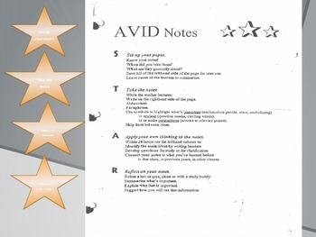 Cornell Notes PowerPoint with 4 point rubric