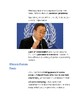 Cornell Notes (An Interdependent World) The United Nations