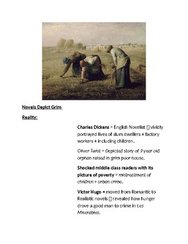 Cornell Notes (Arts in the Industrial Age) Industrial Revolution