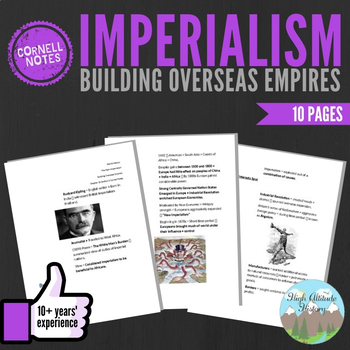 Cornell Notes (Building Overseas Empires) Imperialism