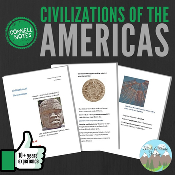 Cornell Notes (Civilizations of the Americas)