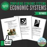 Cornell Notes (Comparing Economic Systems) Economic Systems