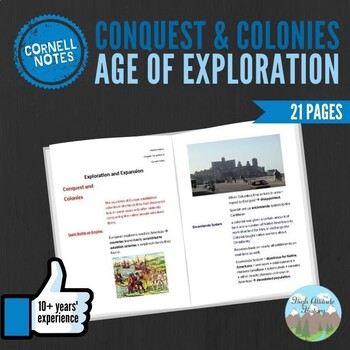 Cornell Notes (Conquest and Colonies) Age of Exploration