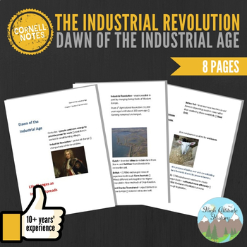 Cornell Notes (Dawn of the Industrial Age) Industrial Revolution