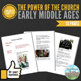 Cornell Notes: Early Middle Ages (The Power of the Church)