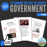 Cornell Notes (Extending the Bill of Rights) Government