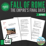 Cornell Notes (Fall of Rome)