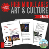 Cornell Notes: High Middle Ages (Art and Culture)