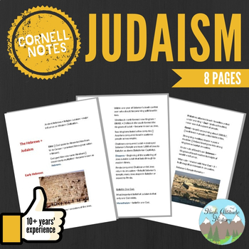 Cornell Notes (Judaism)