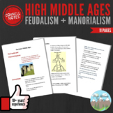 Cornell Notes: Middle Ages (Feudalism + Manorialism)