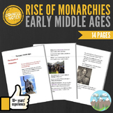 Cornell Notes: Middle Ages (Rise of Monarchies)