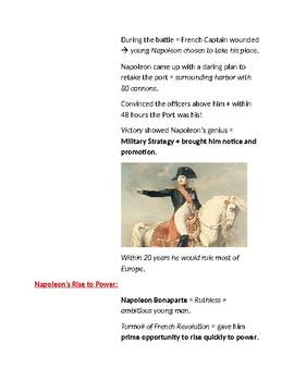 Cornell Notes (Napoleon's Europe)