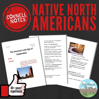 Cornell Notes (Native North Americans)