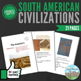 Cornell Notes (South American Civilizations)