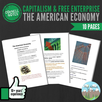 Cornell Notes (The American Economy) Capitalism & Free Enterprise