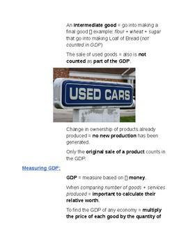 Cornell Notes (The American Economy) Economic Resources