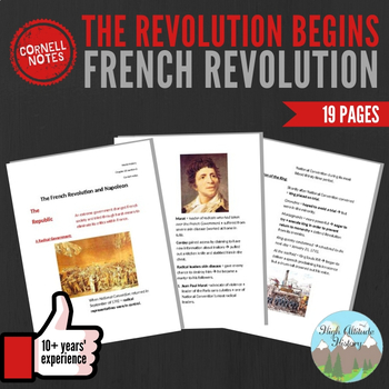 Cornell Notes (The French Revolution Begins)