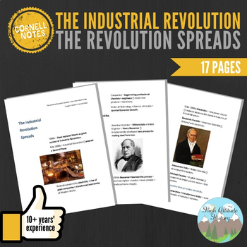 Cornell Notes (The Industrial Revolution Spreads)