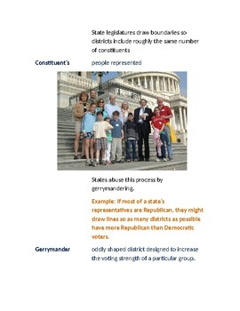 Cornell Notes (The Legislative Branch) How Congress is Organized