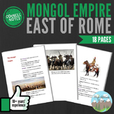 Cornell Notes (The Mongol Empire)