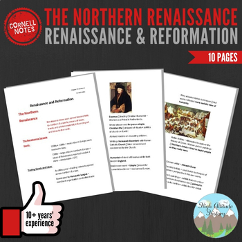 Cornell Notes (The Northern Renaissance)